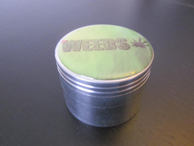 New aluminum green weed grinder.