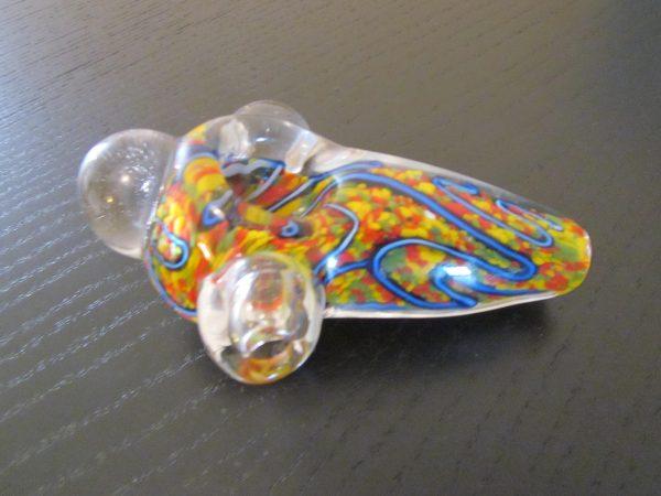 spacial glass smoking pipe