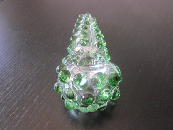 large green glass smoking pipe