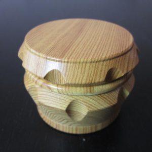 wooden marijuana grinders